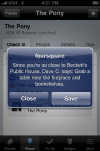 iPhone screen capture image